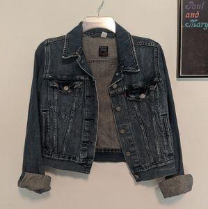 Retro cropped Levi's Jean Jacket